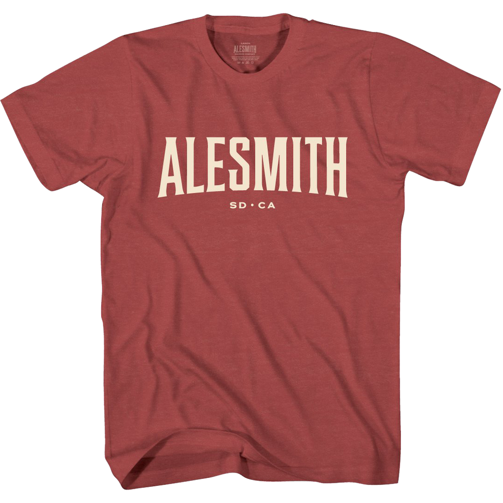 Cardinal Red Standard Issue Tee - Alesmith Brewing Company