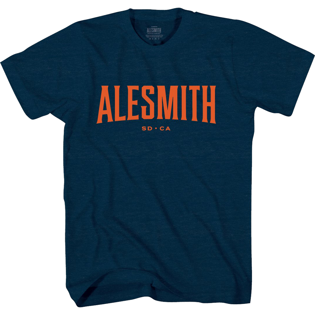 Navy Standard Issue Tee - Alesmith Brewing Company