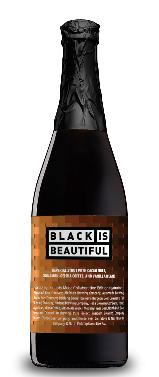 Black is Beautiful San Diego County Mega Collaboration Edition (12.5% ABV) 750ml - Alesmith Brewing Company