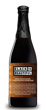Load image into Gallery viewer, Black is Beautiful San Diego County Mega Collaboration Edition (12.5% ABV) 750ml - Alesmith Brewing Company