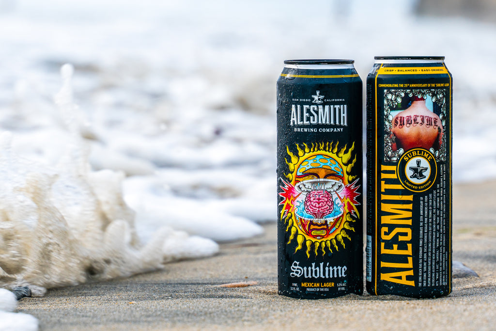 Sublime Mexican Lager (5.2% ABV) LIMITED EDITION 19.2oz Cans - AleSmith Brewing Co.