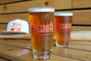 .394 Glass with Baseball Engraved - Alesmith Brewing Company