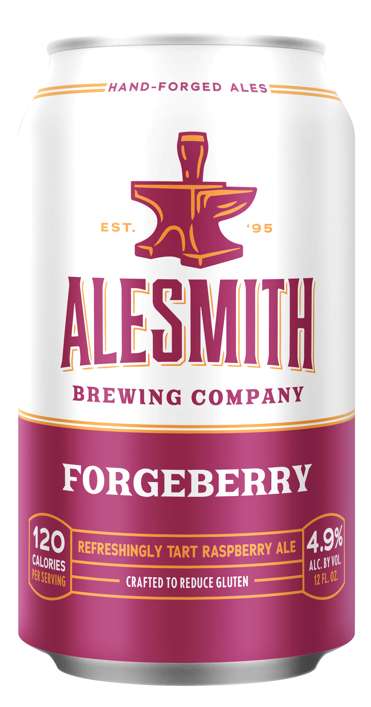 Forgeberry (4.9% ABV) 12oz Cans - Alesmith Brewing Company