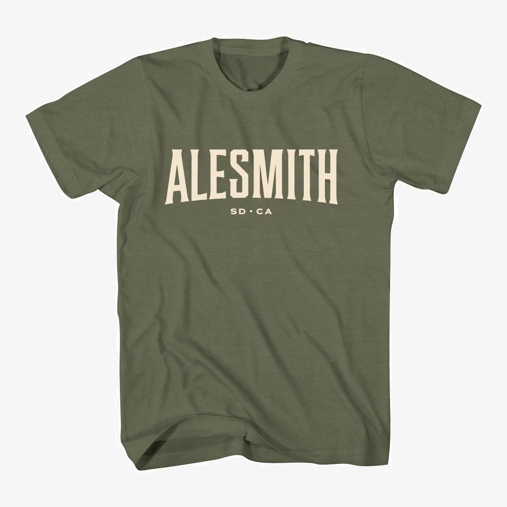 Military Green Standard Issue Tee - Alesmith Brewing Company
