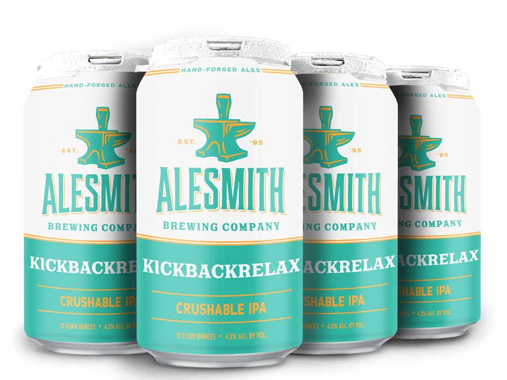 KickBackRelax (4.2% ABV) 12oz Cans - AleSmith Brewing Co.