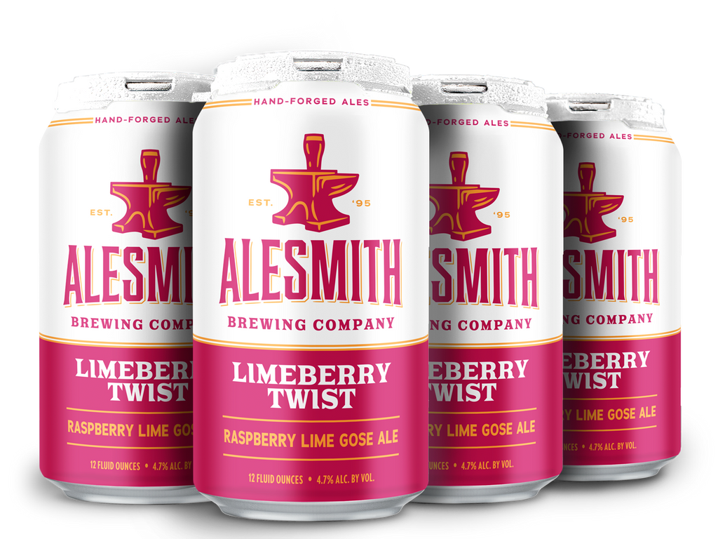 LimeBerry Twist (4.9% ABV) 12oz Cans - AleSmith Brewing Co.
