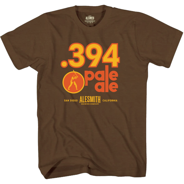 .394 San Diego Pale Ale T-Shirt - Alesmith Brewing Company