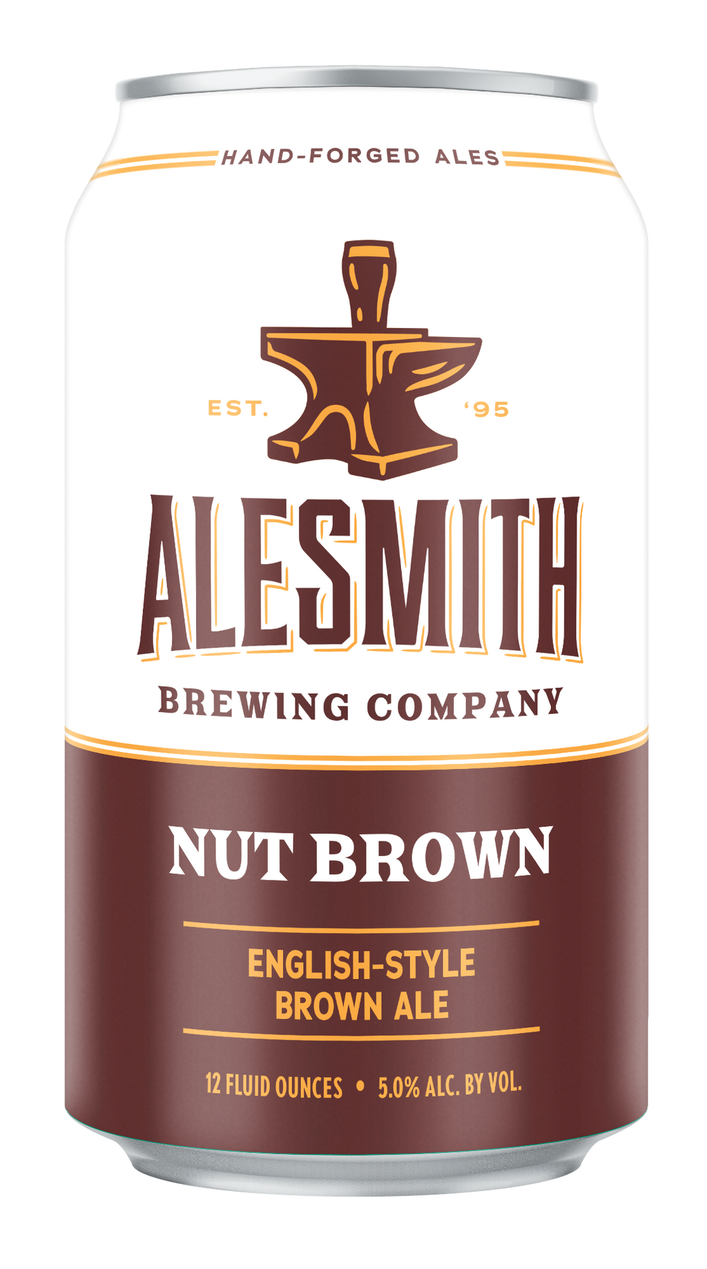 Nut Brown (5% ABV) 12oz Cans - Alesmith Brewing Company