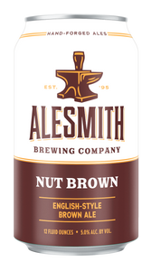 Nut Brown (5% ABV) 12oz Cans - AleSmith Brewing Co.