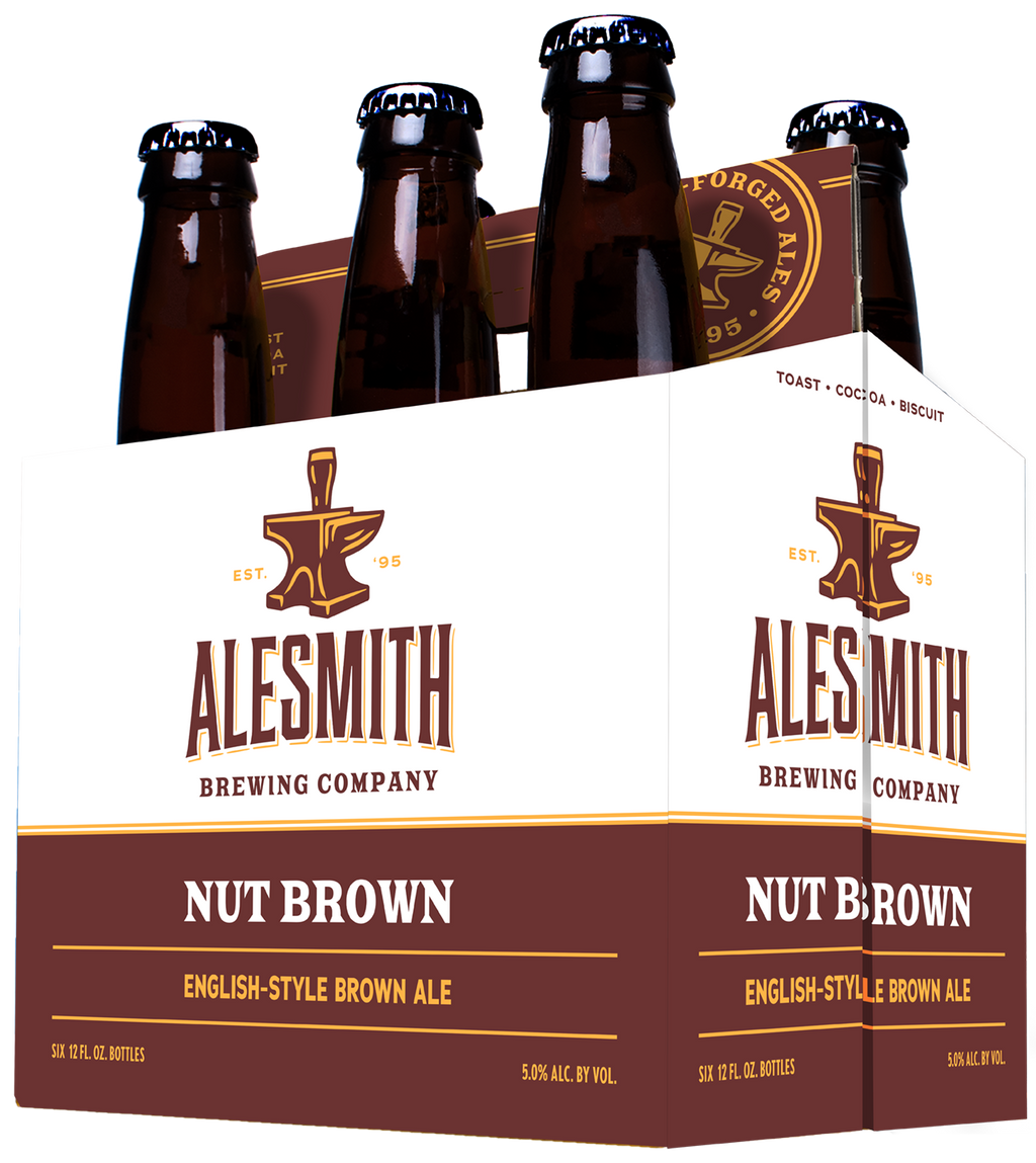 Nut Brown (5% ABV) 12oz Bottles - AleSmith Brewing Co.