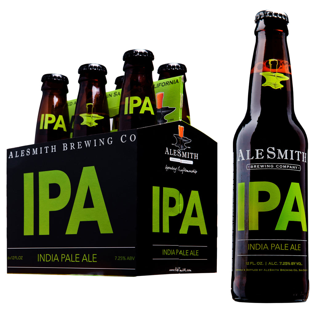 AleSmith IPA (7.25% ABV) 12oz Bottles - Alesmith Brewing Company