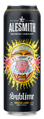 Load image into Gallery viewer, Sublime Mexican Lager (5.2% ABV) LIMITED EDITION 19.2oz Cans - AleSmith Brewing Co.