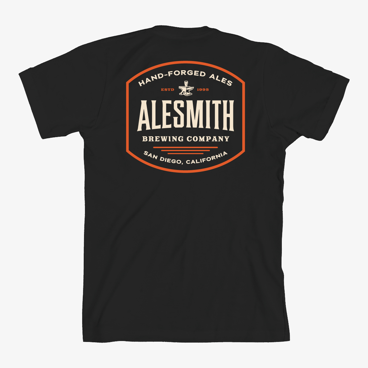 Black Hand-Forged Tee - AleSmith Brewing Co.