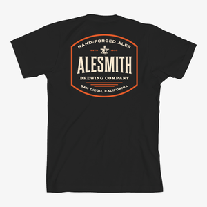 Black Hand-Forged Tee - Alesmith Brewing Company
