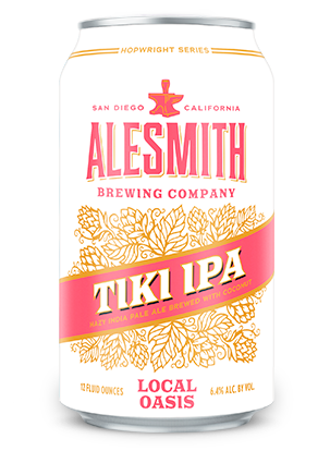 Local Oasis Tiki IPA (6.4% ABV) 12oz Cans **$30 CASE SPECIAL** - Alesmith Brewing Company
