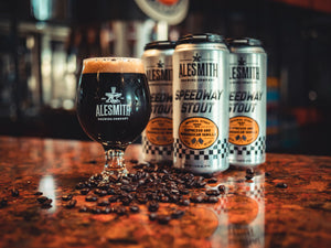 Speedway Stout with Espresso and Madagascar Vanilla (12 % ABV) 16oz Cans - Alesmith Brewing Company