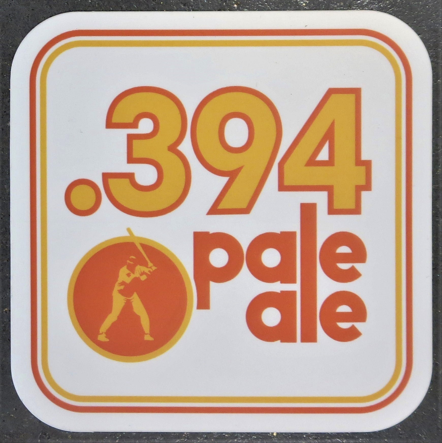 .394 Sticker - Alesmith Brewing Company