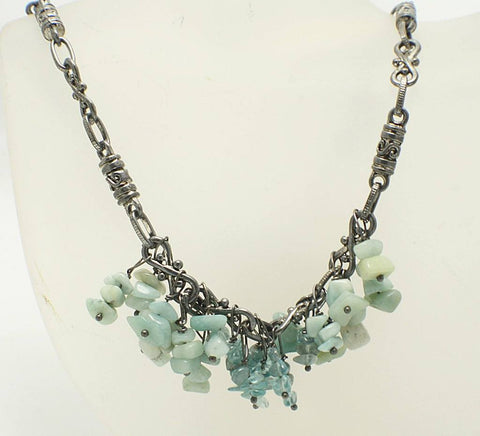 Gemstone Cluster Necklaces