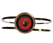 Marine Corp Seal Eagle Globe Anchor Cuff Bracelet Officially Licensed