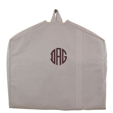 Personalized Garment Bag Natural Color - Heart Melter - Personalized Gifts