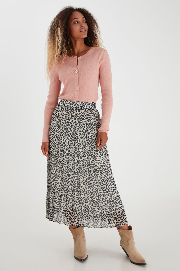 B.Young Genov Leopard Skirt