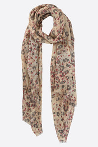 Abstract Leopard print Scarf