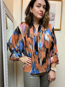 Soaked in Luxury Gala Amelie Blouse