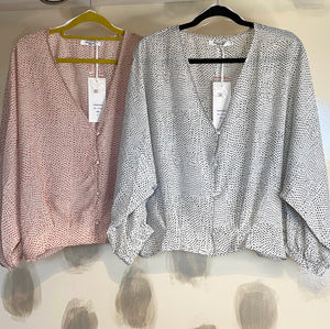 Paris Batwing Blouse