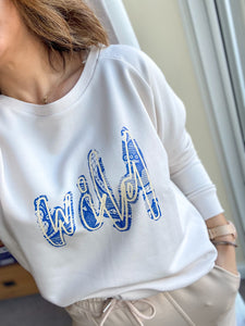 Wild Lace Sweatshirt ***MADE TO ORDER***