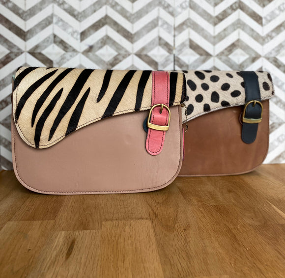 Animal Print 'Grace' bag***two colours***
