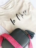 'La Muse' Boxy tee ***NEW LAUNCH***