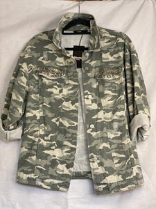 Marley- Camo Soft feel Shacket
