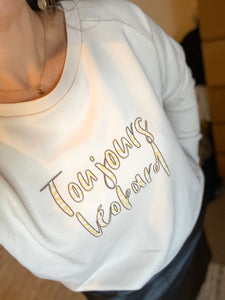 'Toujour Léopard' Dazzler Sweatshirt ***NEW LAUNCH***AVAILABLE TO ORDER***