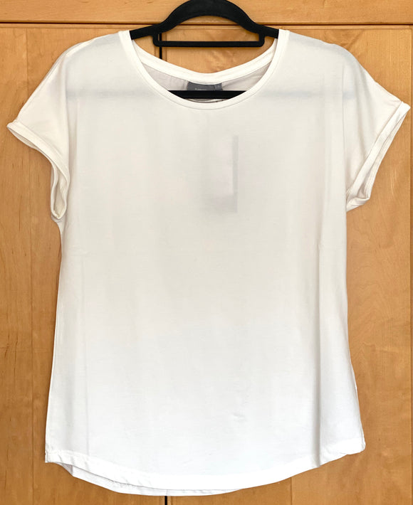 B.Young Pamilla Basic Tee ~ Off-White