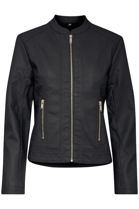 B.Young Acom leather look Biker