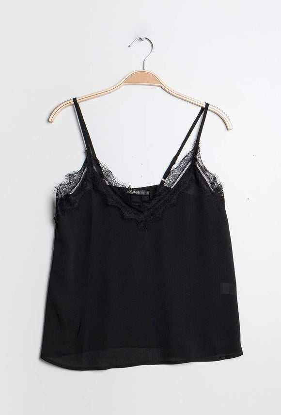 Nina Camisole with lace detail
