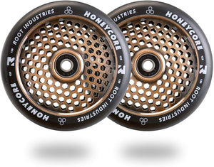 Root Industries Honeycore Wheel Set Copper 110mm