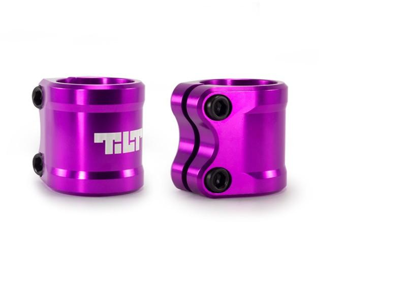 Tilt Arc Double Clamp Purple