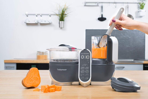 Duo meal station food maker by Baby Moov