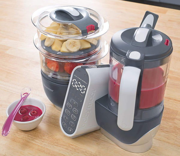 Baby Moov food maker with multi speed blender
