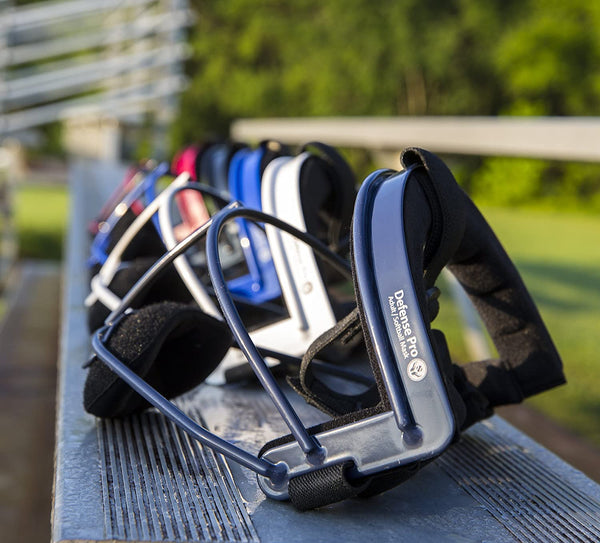 RIP-IT Defense Pro – The Ultimate Softball Fielder's Mask – Black – Adult