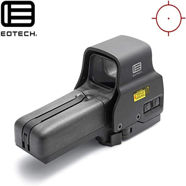 EOTECH 518.A65, Holographic Weapon Sights, 1 MOA, Not Night Vision Compatible, Black, Length: 5.60""