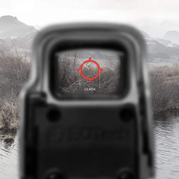 EOTECH 518.A65, Holographic Weapon Sights, 1 MOA, Not Night Vision Compatible, Black, Length: 5.60