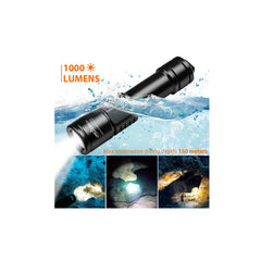 ORCATORCH D520 Scube Diving Flashlight 1000 Lumens