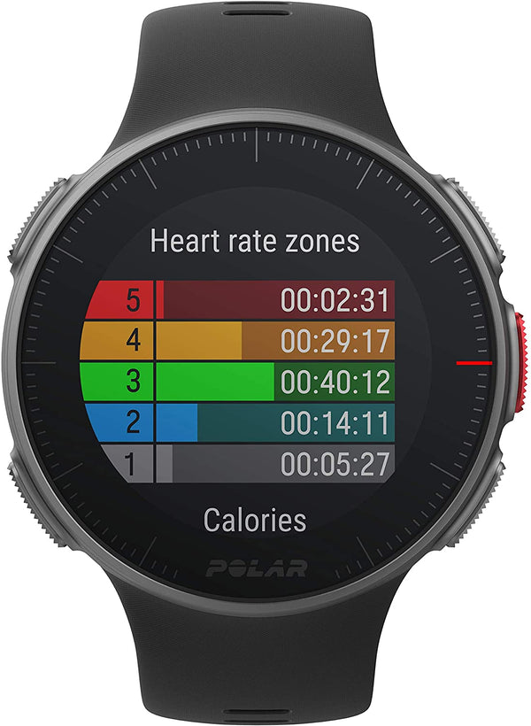 Polar Vantage V – Premium GPS Multisport Watch for Multisport & Triathlon Training (Heart Rate Monitor, Running Power, Waterproof)