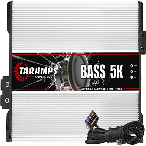 Taramps BASS 5K 1 Ohm 5000 Watts Class D Mono Amplifier