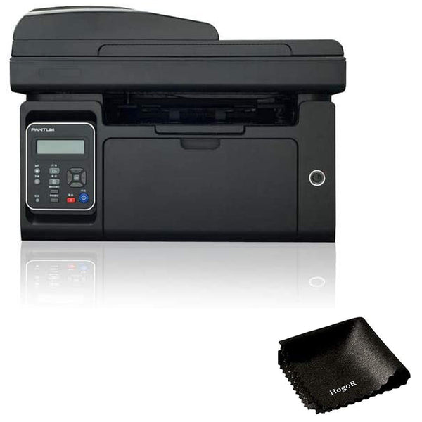 Pantum M6550NW Wireless Monochrome 3-in-1 Laser Printer Bundled with HogoR Cleaning Cloth