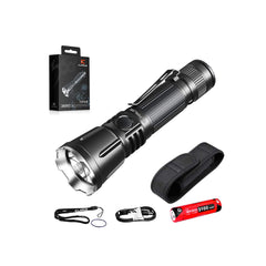 Klarus 360x3 3200 Lumens USB Rechargeable Tactical Flashlight
