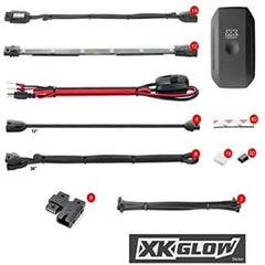 XKGLOW KS-MOTO-PRO 14 Pod 12 Strip Accessory Light Kits