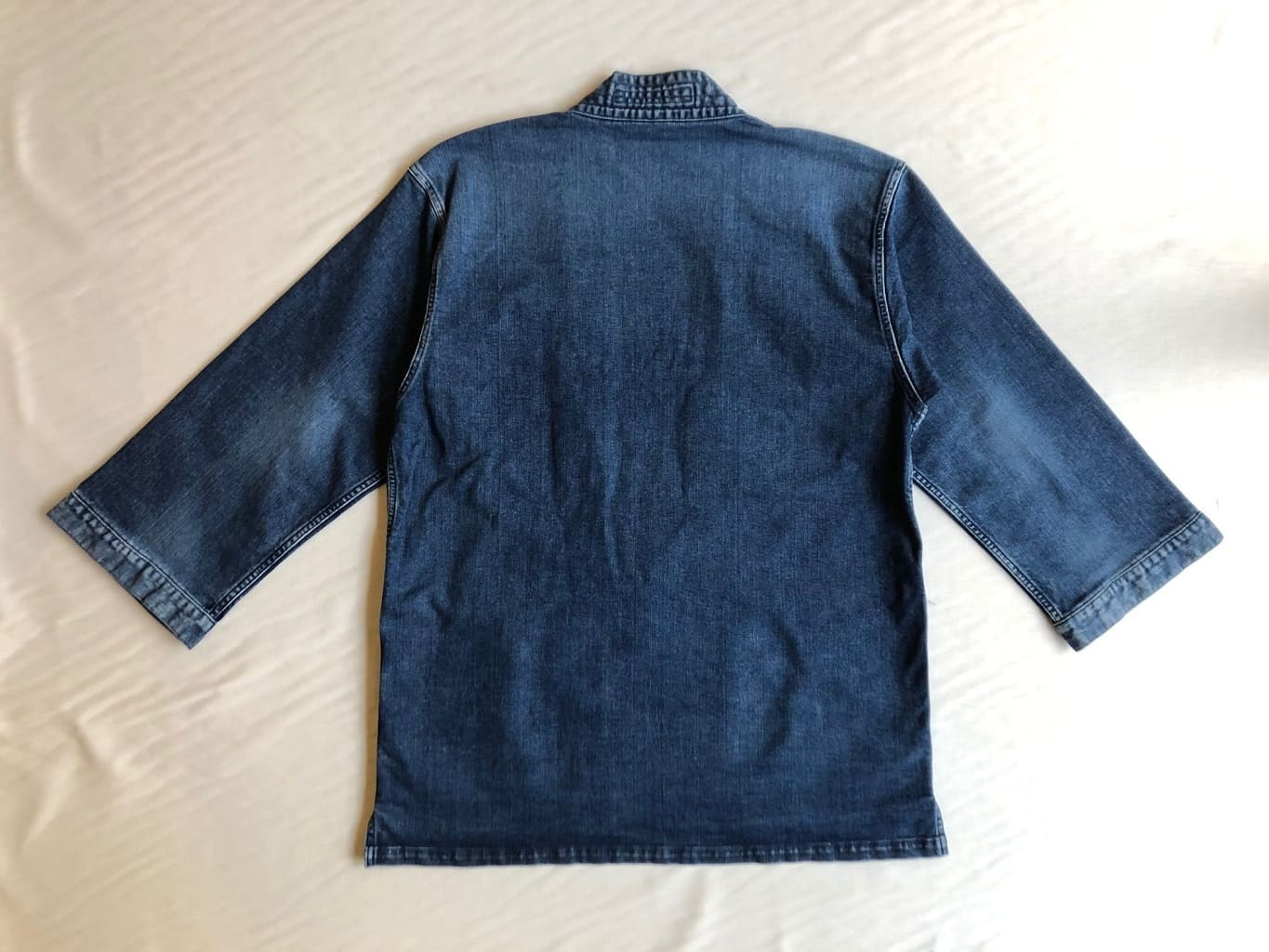 Kimono Denim Jacket - Long Sleeve